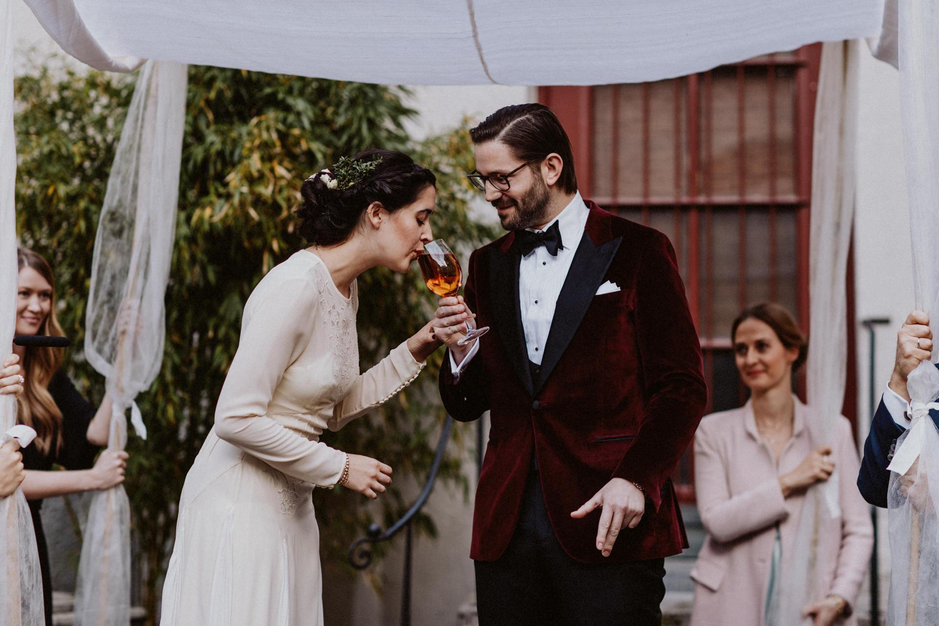 jüdische hochzeitszeremonie hochzeit feiern